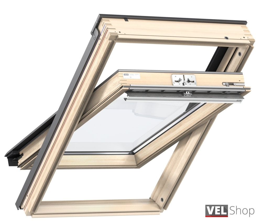 Velux schwingfenster gzl 1050 for Costo velux 55x98