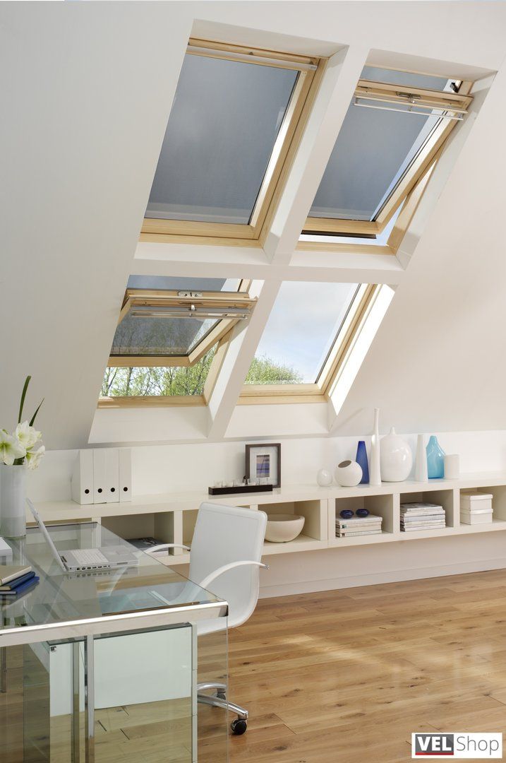 anti hitze markise f r velux dachfenster. Black Bedroom Furniture Sets. Home Design Ideas